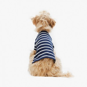 Casual Stripe T-shirt Navy