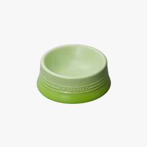 LE CRUESET DOG BOWL Green