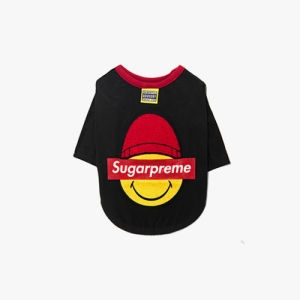 SUGARPREME_HEATEC TOP BLACK