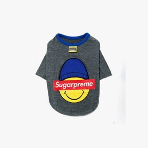 SUGARPREME_HEATEC TOP GREY