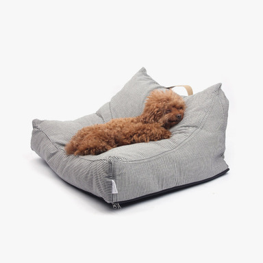 The Dog Lounge (Gray Stripe)