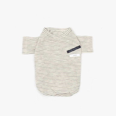 Cotton Series Tee (Black Stripe)