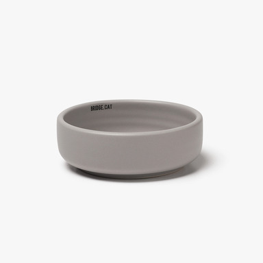Bridge Cat_Basic Bowl (Grey)