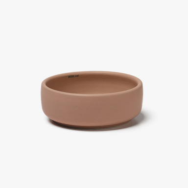 Bridge Cat_Basic Bowl (Pink)