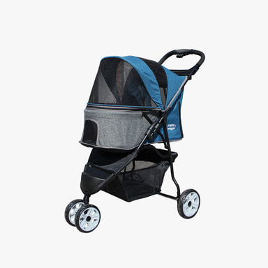 Puppy Wagon Premium (Blue&Grey)