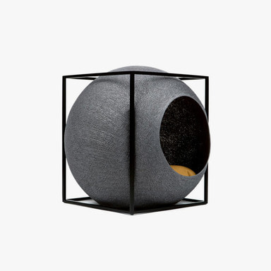 The Cube_Metal (Dark Grey)