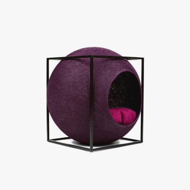 The Cube_Metal (Plum)
