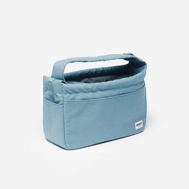 Classic Canvas Sling Bag (Sky Blue)