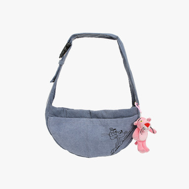 Pink Panther Messenger Sling Bag (Blue)