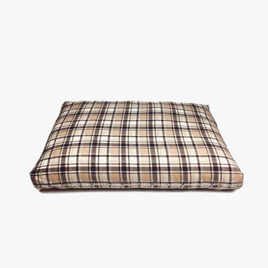 Relaxing Cushion (Beige Check)