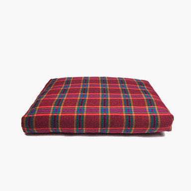 Relaxing Cushion (Red Check)